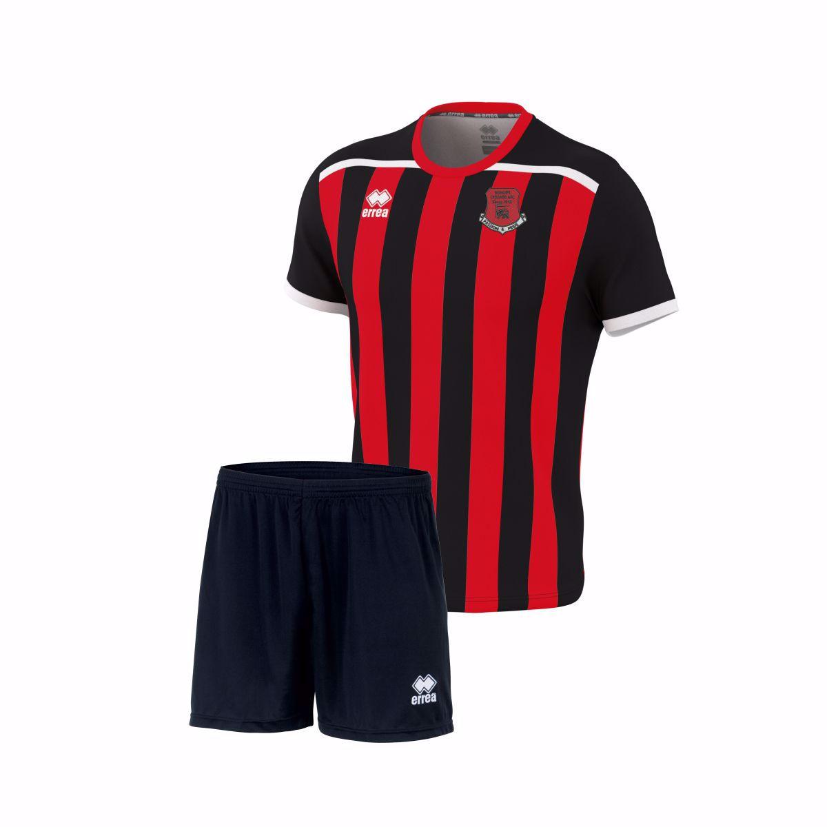 BISHOPS LYDEARDS FC Elliot S/S Matchday Shirt/Shorts- JUNIOR