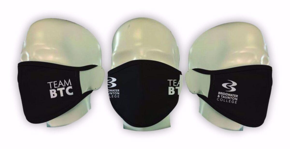 Bridgwater & Taunton College - Team BTC Face Covering