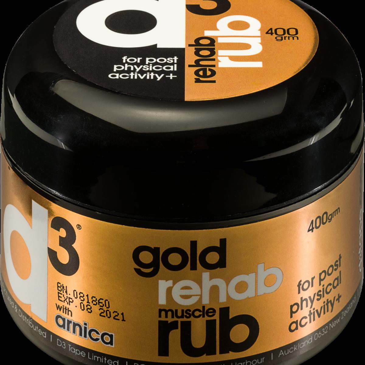 d3 Gold Rehab Muscle Rub