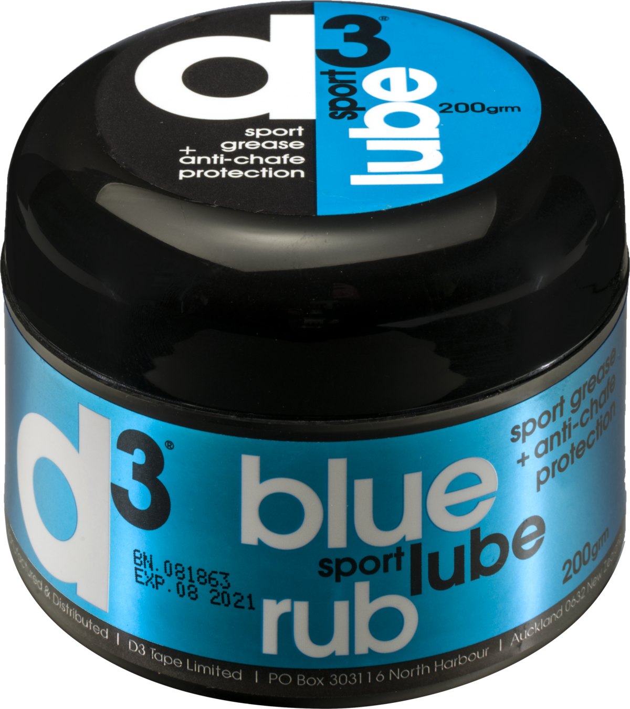 d3 Blue Sport Lube Rub