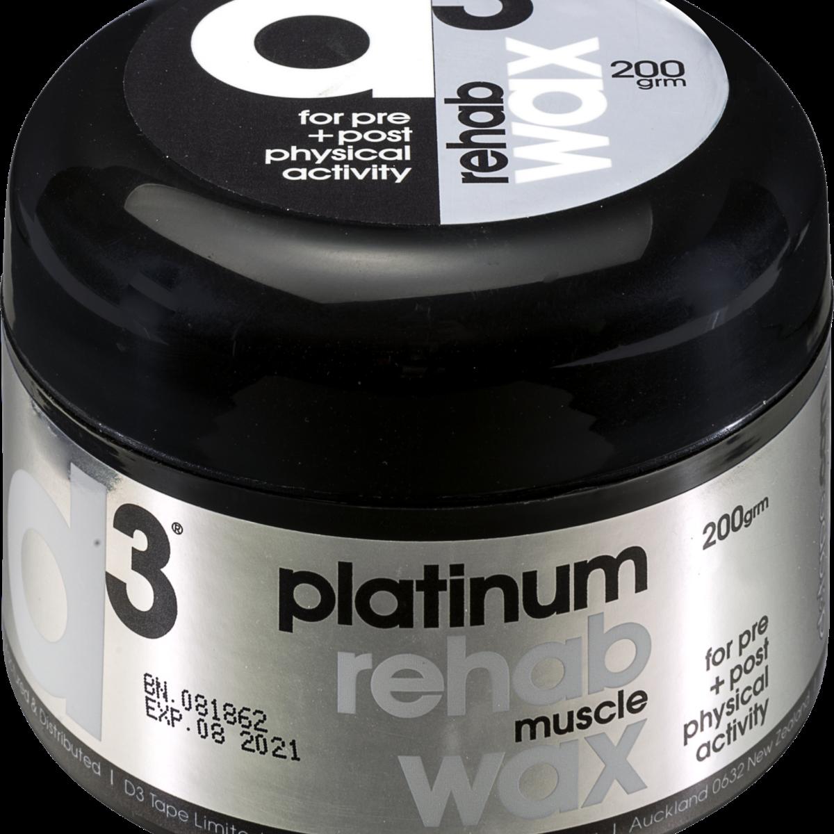 d3 Platinum Rub