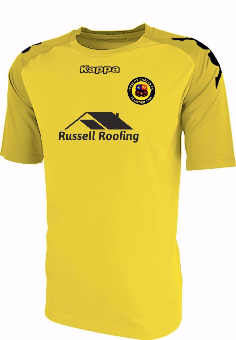 Prescot Cables FC Replica Home Shirt