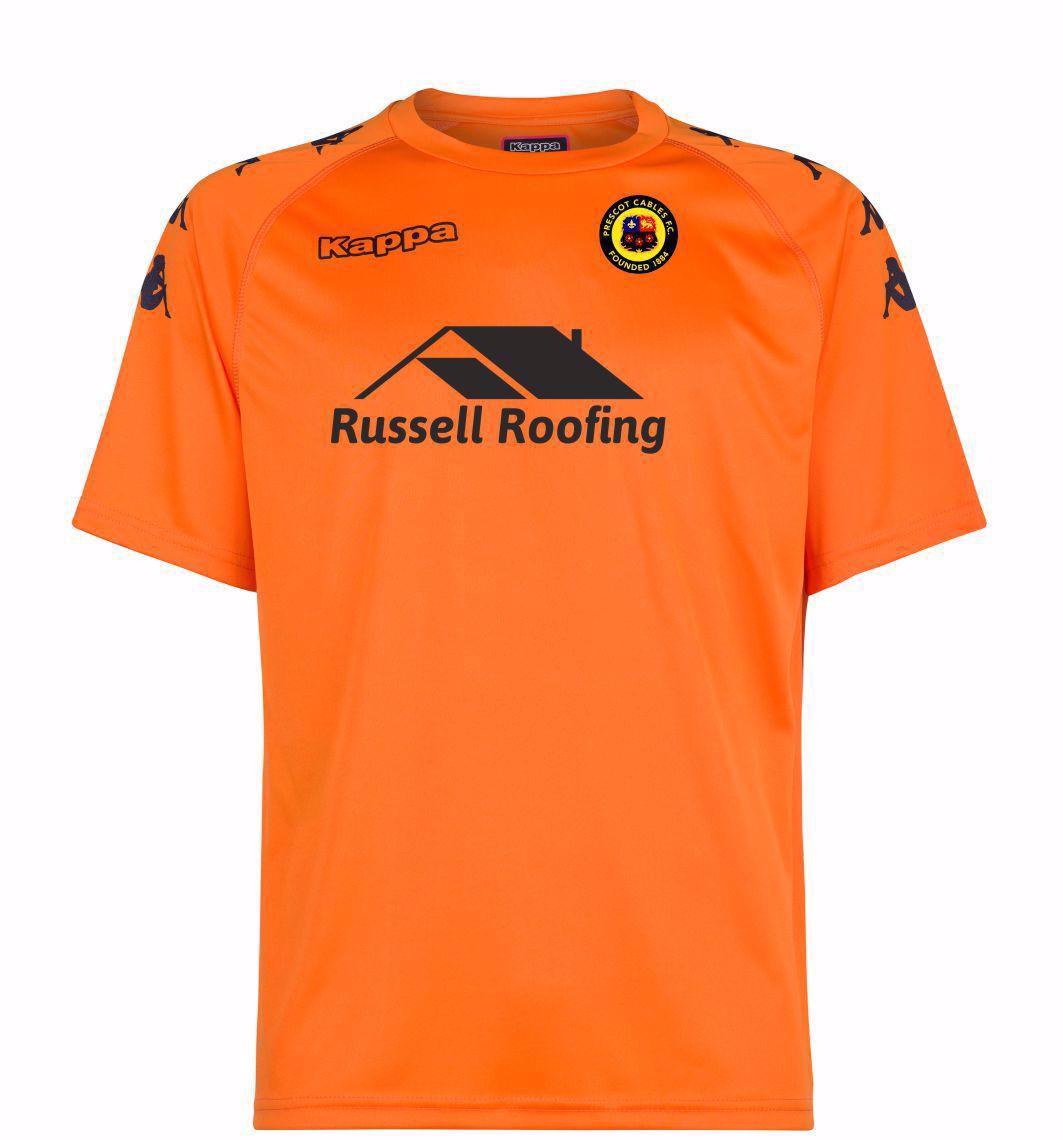 Prescot Cables FC Replica Away Shirt
