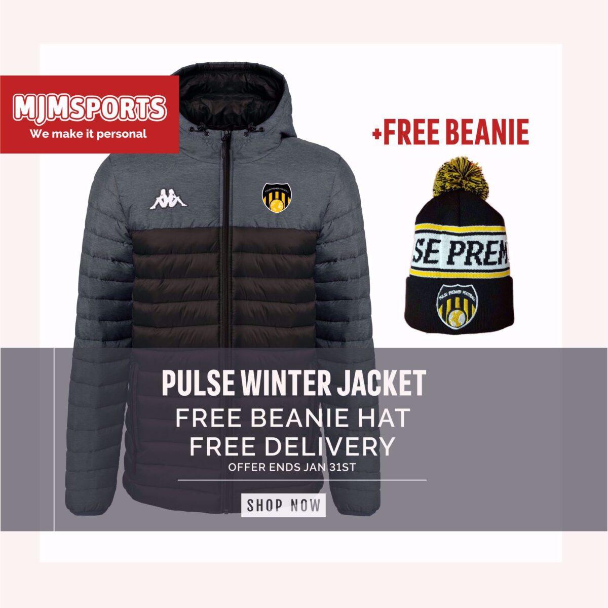 Pulse Premier Football - Kappa Lamzino Jacket