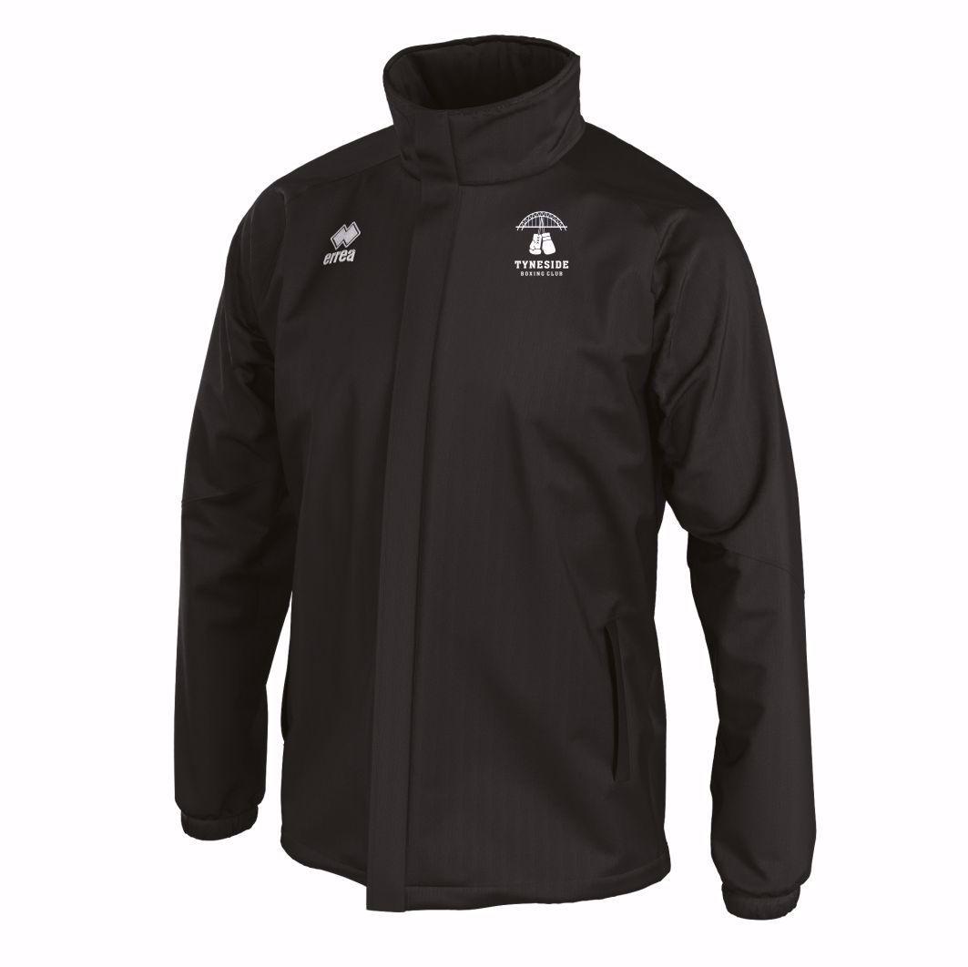 Tyneside Boxing Club SYUN Rain Jacket FJOKOZ Black