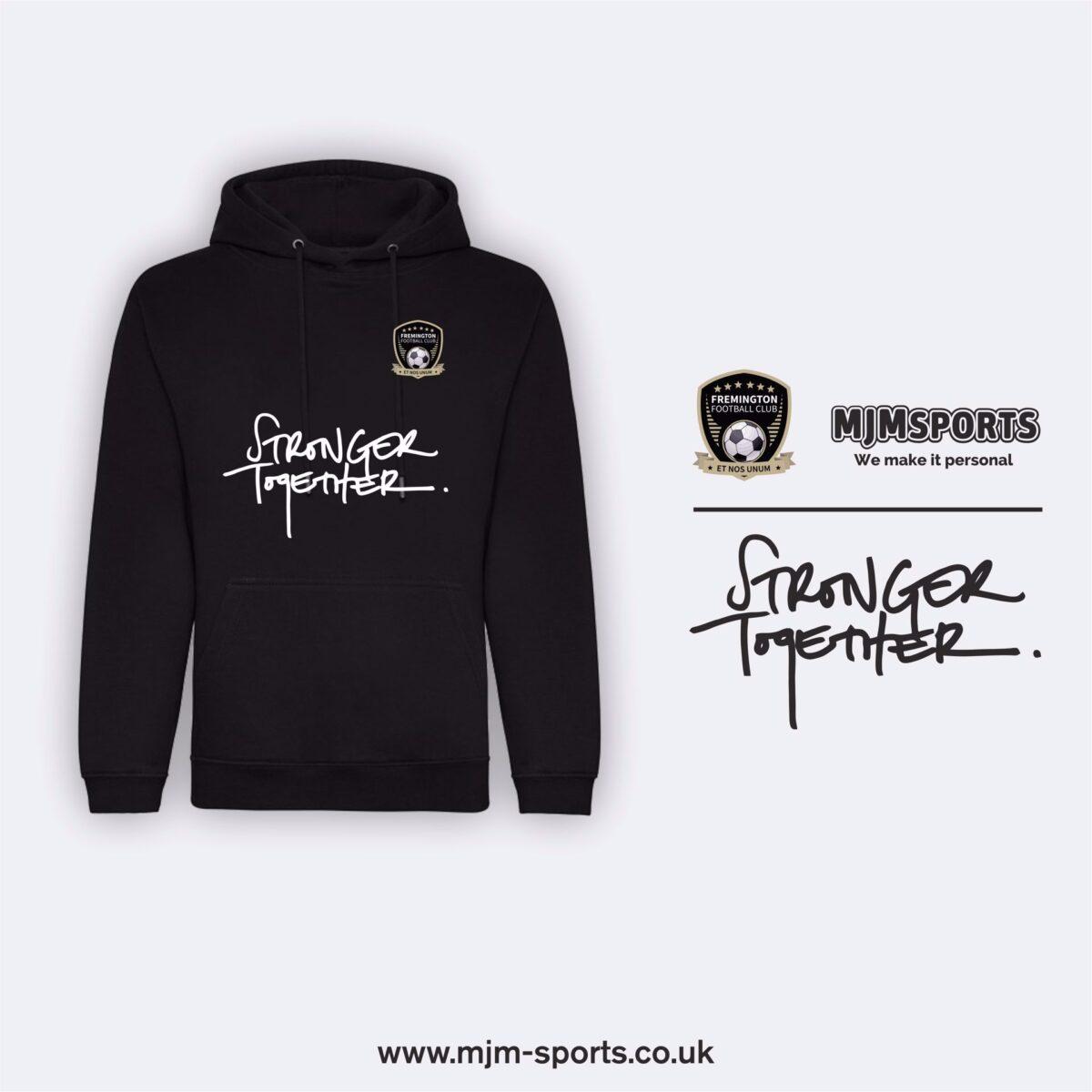 Fremington FC Stronger Together Hoodie Junior