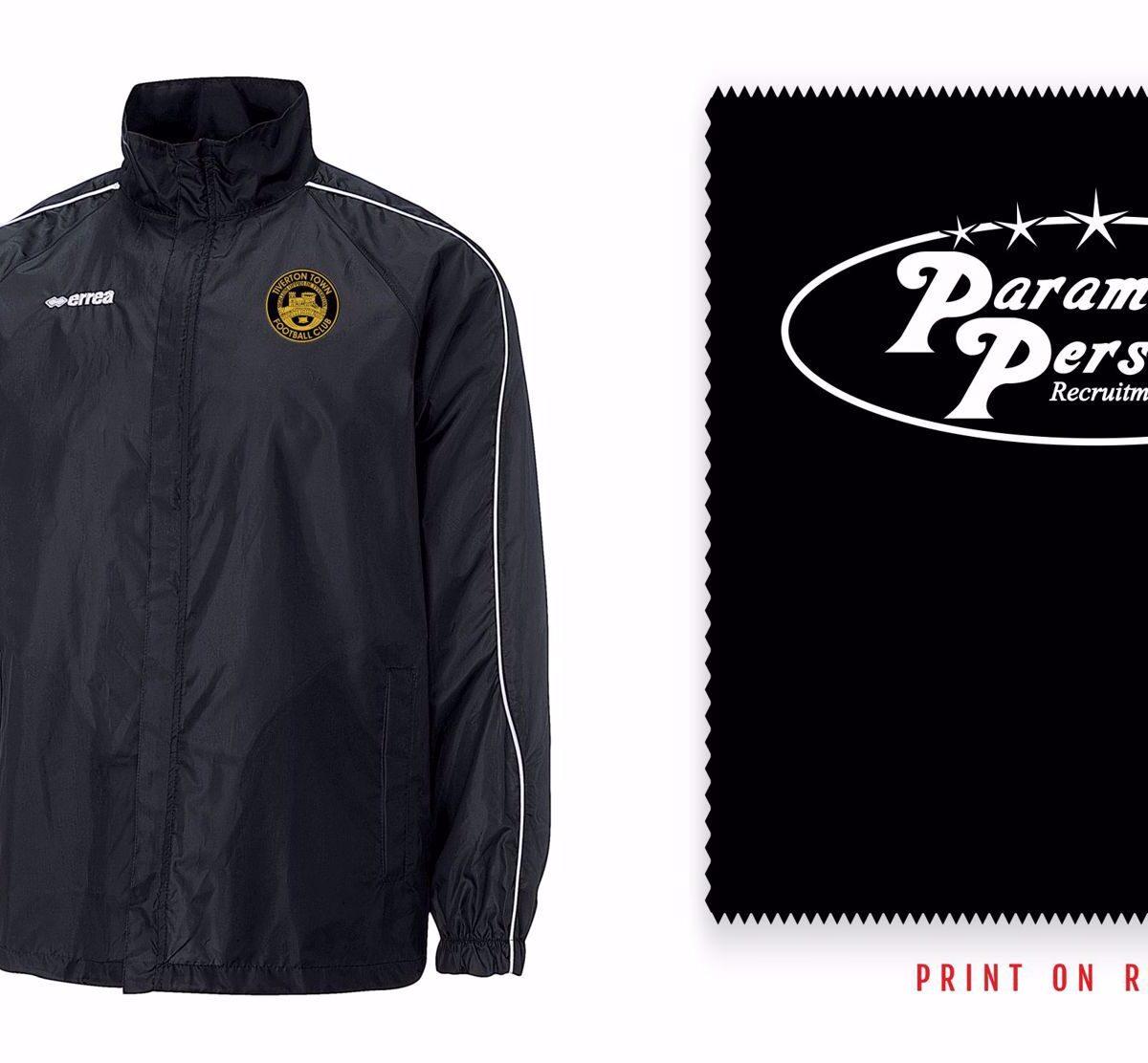 Tiverton Town Development FC Rain Jacket - Errea Basic B670 00012