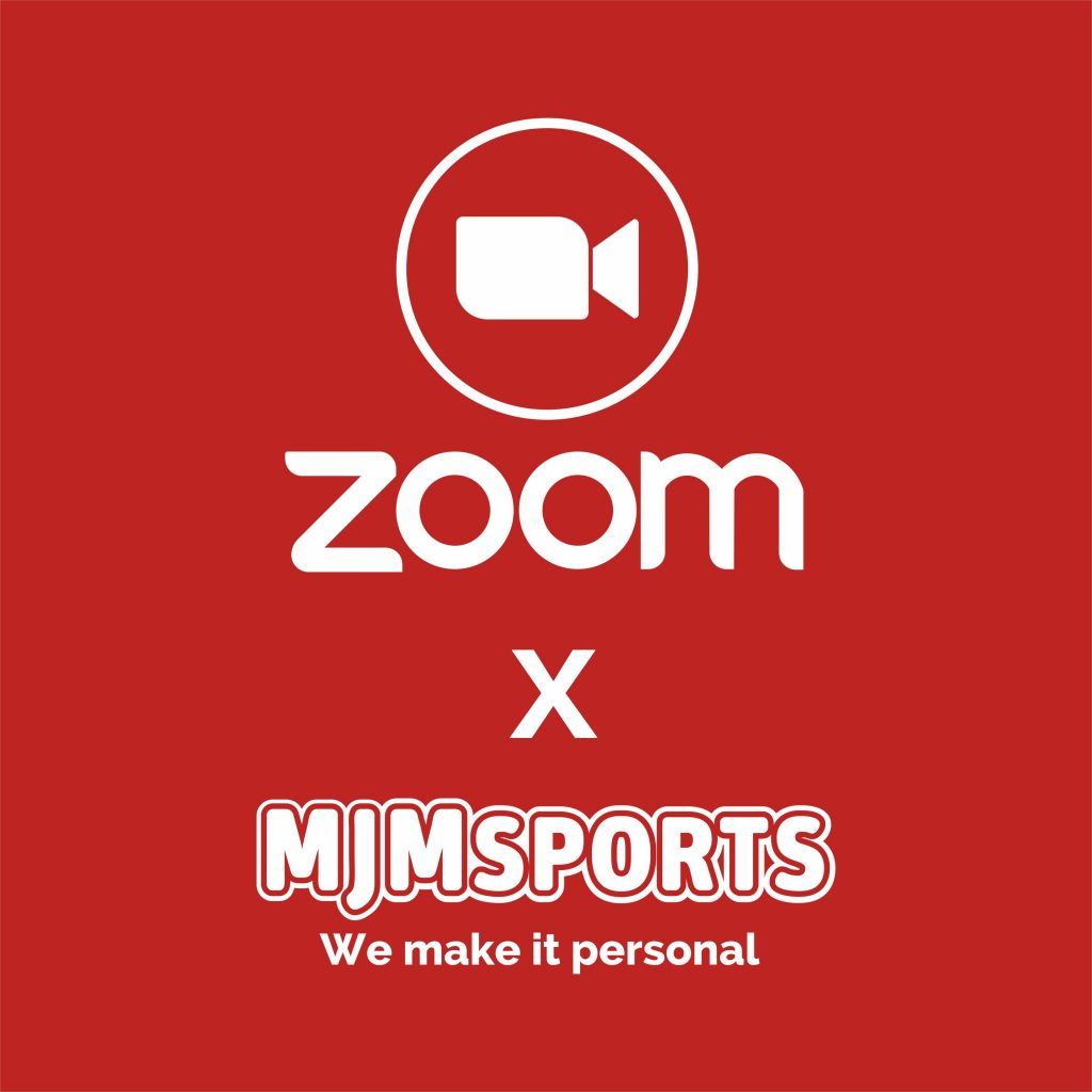 You can now Zoom with MJM sports