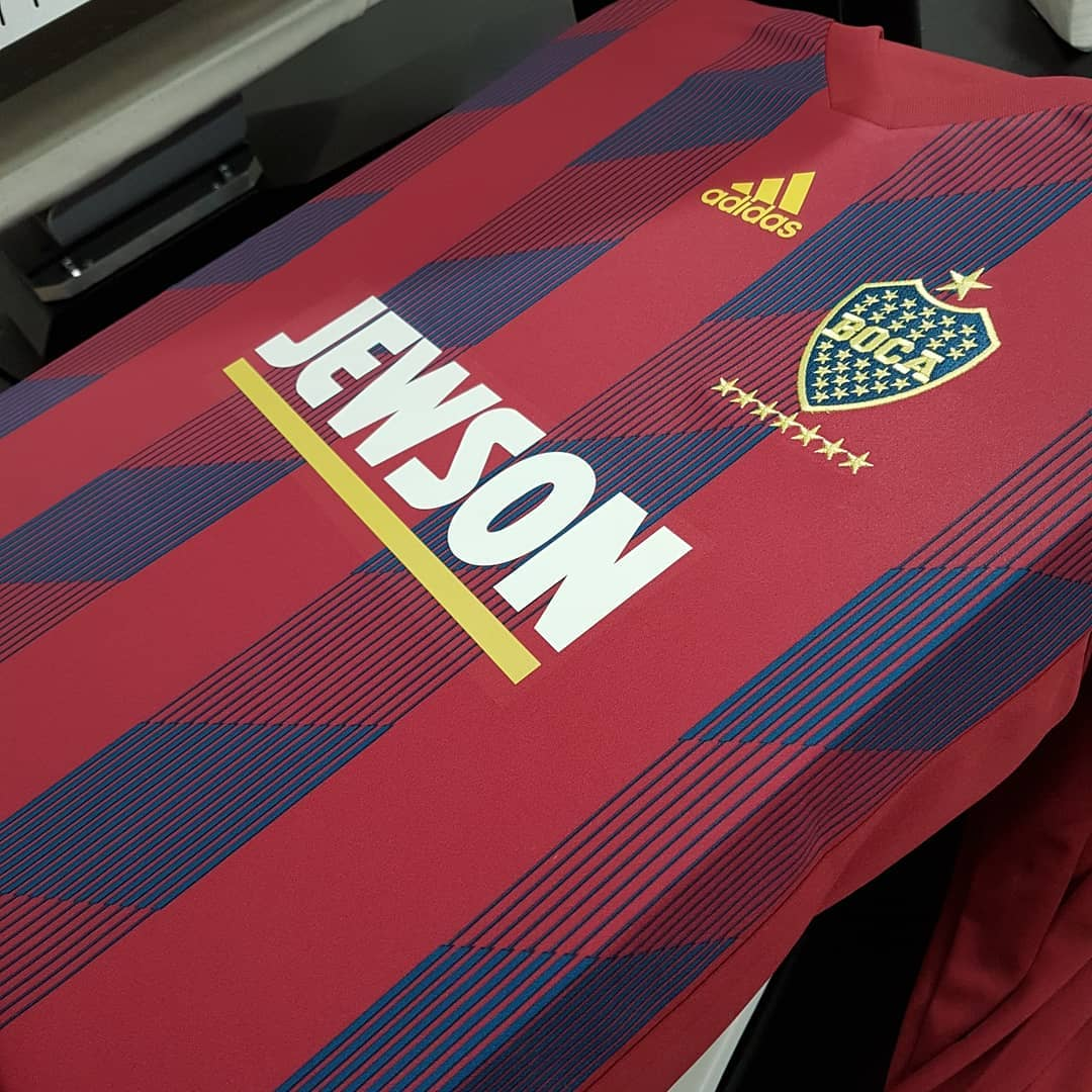 Football shirt embroidery by MJM Sports